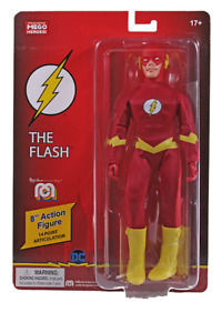 The Flash world's greatest Mego heroes Mego 8 Inch Action Figure PRESALE