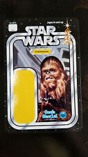 2017 SDCC EXCLUSIVE GENTLE GIANT KENNER STYLE STAR WARS PROMO CARD CHEWBACCA