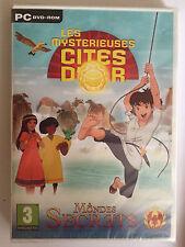Les Mystérieuses Cités d'Or : Mondes Secrets JEU PC DVD ROM NEUF SOUS BLISTER
