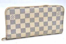 Authentic Louis Vuitton Damier Azur Portefeuille Insolite Wallet N63072 LV 99634