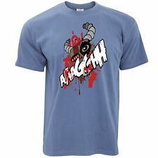 Dibujos animados Monster Camiseta miedo ogro cara Halloween Espeluznante gritando