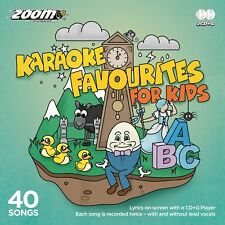 Zoom Karaoke Favourites For Kids CD+G - 40 Songs on 2 CD+G Discs!