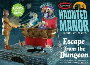Polar Lights 972 Haunted Manor: Escape from the Dungeon diorama model kit 1/12