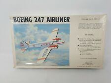 WILLIAMS BROS Boeing 247 Airliner 1/72 Model Kit Factory Sealed w/tear