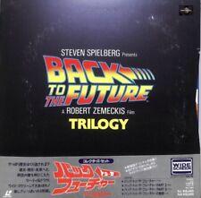 Back To The Future 4LD Box Japan laserdisc Obi