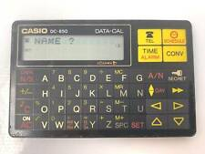 Casio DC-850 Data-cal electrónico digital Diario Organizador * Vintage 1995 *