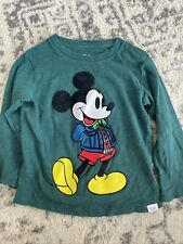 New listing Baby Gap Disney Mickey Mouse Long Sleeve Shirt 2