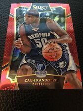 Zach Randolph Grizzlies  2015-2016 Select Concourse Prizm Red #100 33/149
