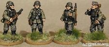 SGTS MESS G21 1/72 Diecast WWII German Infantry Officer+NCO+2 Privates 1939-41
