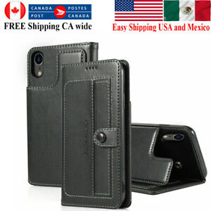 For iPhone 12 11 Pro XS Max Mini XR X 8 7 Wallet Leather Magnet Flip Case Cover