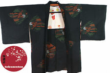 Kimono Haori Japonais MADE IN JAPAN AUTHENTIQUE NEUF NEW SOIE SILK