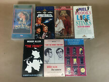 Mel Brooks and Woody Allen Movies VHS Bulk Lot 7 Tapes