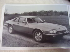 1982 JAGUAR XJS COUPE   11 X 17  PHOTO /  PICTURE