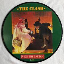 """The Clash-Rock The Casbah-RARE UK 7"""" PICTURE DISC (punk/Vinyle)"""