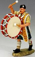King & Country British Eighth Army Ea026D Army Bass Drum Mib