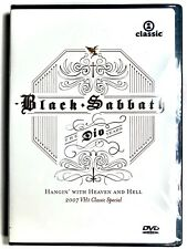 New listing Black Sabbath THE DIO YEARS Hangin' With Heaven And Hell (DVD, Region 1) VH1 OOP