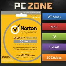 NORTON Internet Security 2018 - PC/Mac/iOS/Android - 1 Year - 10 Device Download