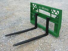 42 Compact Tractor Pallet Fork Set Fits John Deere 200300400500 Loader