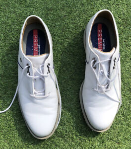 Footjoy Dryjoys Premiere Flint Golf Shoes , Hardly Worn  - Medium Width UK 10