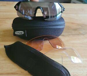 Tifosi Podium XC Cycling Glasses and Case + 3 Lenses