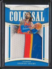 2019 National Treasures Steven Adams 4 Color Patch Colossal /25