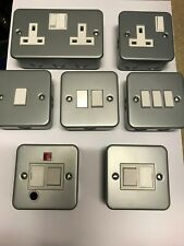 Metal Clad Sockets , Switches , Fused Spurs &Accessories  ** MULTI BUY **