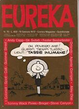 EUREKA n. 70 - EDITORIALE CORNO - GENNAIO 1972