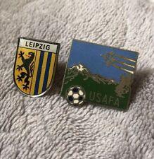 USAFA Air Force Soccer Pin Leipzig Pin Lot Fan Souvenir