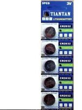 600×CR2032 TIANTAN Lithium Primary Battery Brand New Factory Direct Blister Card