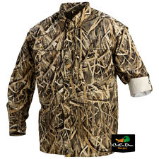 DRAKE WATERFOWL EST VENTED WINGSHOOTERS LONG SLEEVE SHIRT BLADES CAMO 2XL