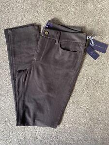NYDJ Slimming Fit Brown Kodiak Jeggings Jeans Trousers. Sz 14. NEW RRP £139.95