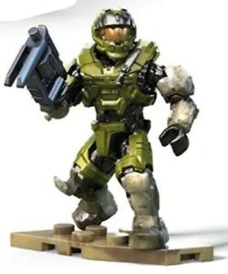 UNOPENED Green Spartan Mega Construx Halo Infinite Series 2 NEW