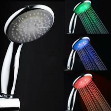 Romantic Automatic Bathroom LED Trcolor Shower Head RC9820A Temperature Control