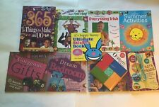 9 Childrens Craft Books; In Acceptable Condition