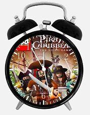 "Lego Pirates of the Caribbean Alarm Desk Clock 3.75"" Home or Office Decor W408"