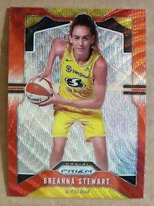 Breanna Stewart 2020 Panini WNBA Prizm Basketball Refractor Card