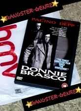 ❤DONNIE BRASCO (DVD,1999) TRUE STORY GANGSTER-GENRE MOVIE CERT.18❤FAST/FREEPOST❤