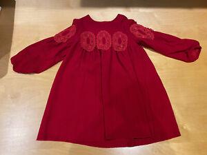 Chloe Red Girls Dress Age 6/NWOT
