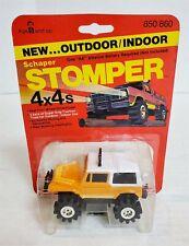 Mn99 Mint On Card Vintage 80'S Stomper Orange Jeep Renegade 4X4 Nos Find!