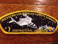 MINT 2005 JSP Western Los Angeles County Council Yellow Border 2