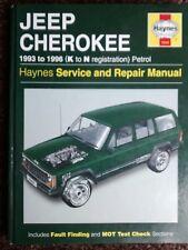 Jeep Cherokee Haynes Manual  FREE POSTAGE