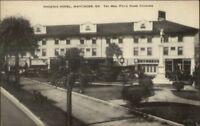 Waycross GA Phoenix Hotel Mrs. Foy Home Cooking Postcard
