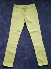 BODEN PREMIUM QUALITY LIME TROUSERS JEANS. SIZE 28R  13-14 years. Brand new