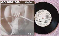 GO! DOG! GO! Go Dog Go, Engine &Borrowed, 1996 Punk Single & Picture Sleeve, EX