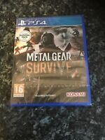 Metal Gear: Survive PS4 - Brand new and sealed