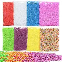 Children DIY Gift Polystyrene Styrofoam Foam Beads Assorted Balls Crafts - Y1