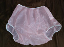 Adult Cloth Diaper Leakmaster Vinyl Plastic Diaper Pants XXL