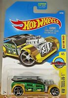 2016 Hot Wheels #34 HW Tool-In-One 4/5 FAST CASH Green/Gold w/Chrome OH5 Spokes