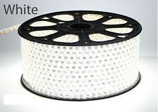 1-100m 5050 SMD 60 LED Strip Light 110v High Voltage Flexible IP67 Waterproof