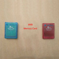 Replacement Memory Expansion Card 8MB for Sony Playstation 2 PS2 Game Consoles